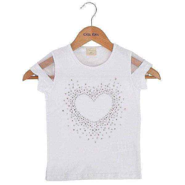 Blusa Infantil Heart 4/8 - Quimby