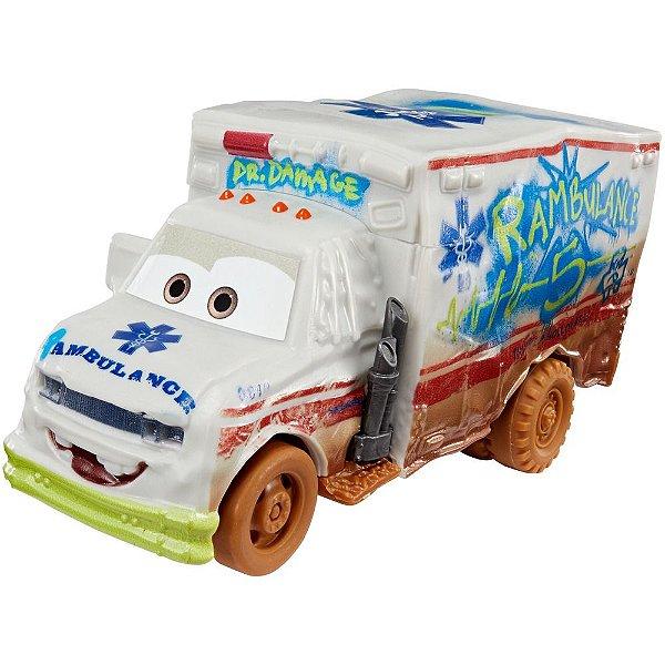 Corredores Crazy 8 - Dr. Damage - Carros 3 - Mattel