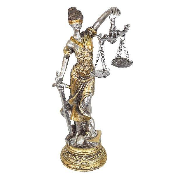 Figura Decorativa Dama da Justiça - Mabruk