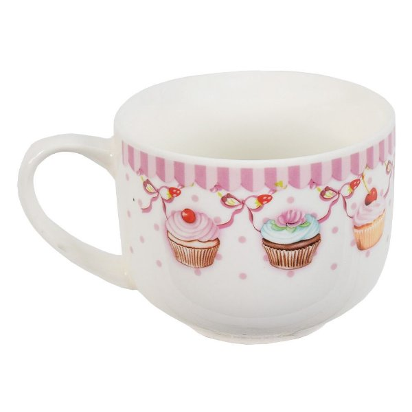 Caneca Jumbo Cupcake - 470ml - Wincy