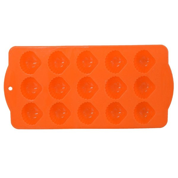 Forma em Silicone Cookstyle Concha - Full Fit