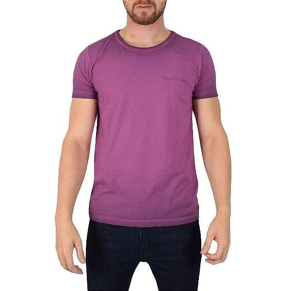Camiseta Estonada Algodão Egípcio - Calvin Klein