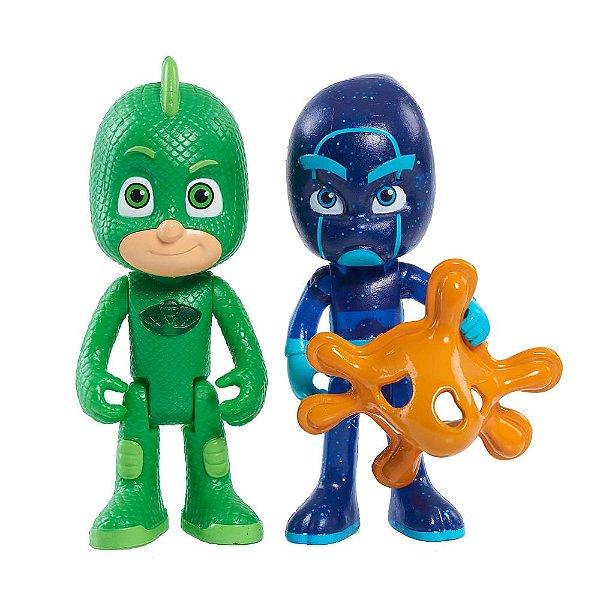 PJ Masks - Lagartixo e Ninja Noturno - DTC