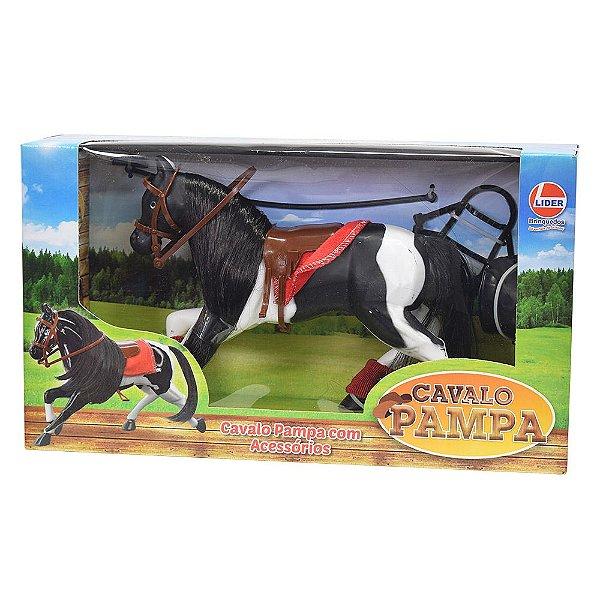 Cavalo Pampa com Acessórios - Líder