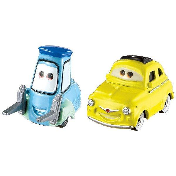 Luigi & Guido - Disney Carros - Mattel
