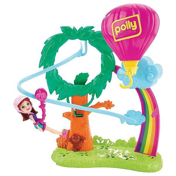 Polly Pocket - Surpresa Safari Balão de Ar Quente - Mattel