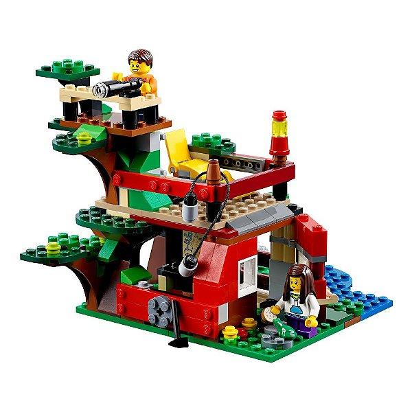 Lego Creator 3 em 1 - Aventuras na Casa da Árvore - Lego