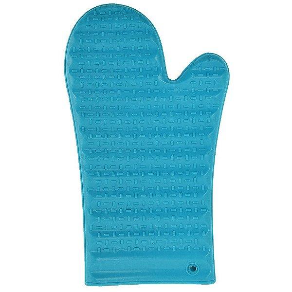 Luva Protetora de Silicone Azul - Mimo Style