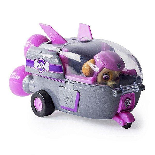 Boneca Skye com Veículo - Patrulha Canina - Sunny