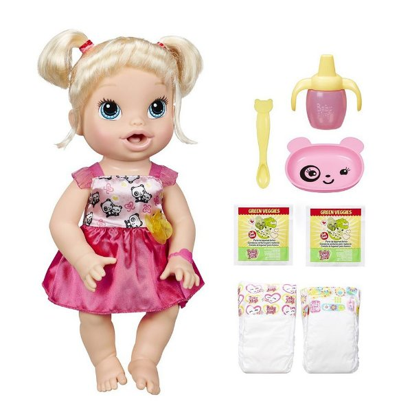 Baby Alive Loira - Hora de Comer - Hasbro