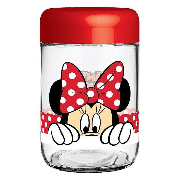Pote de Vidro Disney Minnie Mouse - Nadir