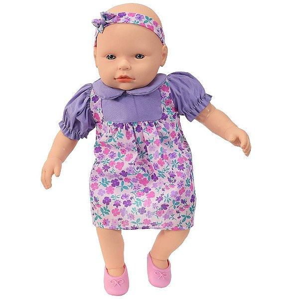 Boneca Mi Bambina Mini - Roxa - Roma