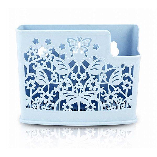 Cesto Organizador Para Parede Azul - Jacki Design