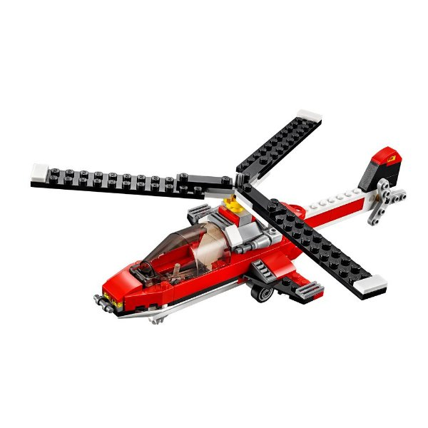 Lego Creator - Avião com Hélices - 3 em 1 - Lego