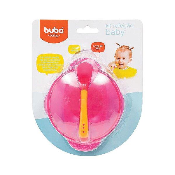 Kit Refeição Baby - Rosa - Buba