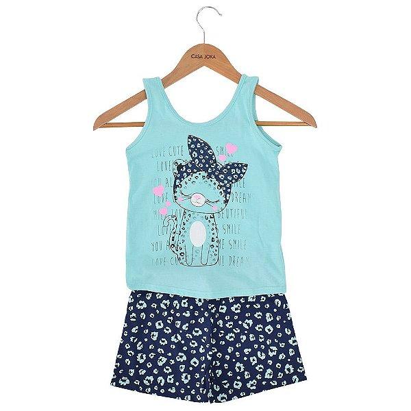 Pijama Infantil Tigrinha Love - Malwee