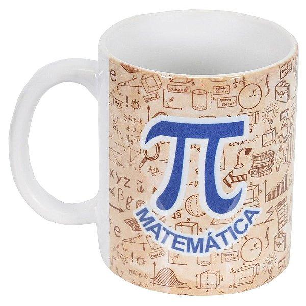 Caneca de Cerâmica Profissões - Matemática - Vikos