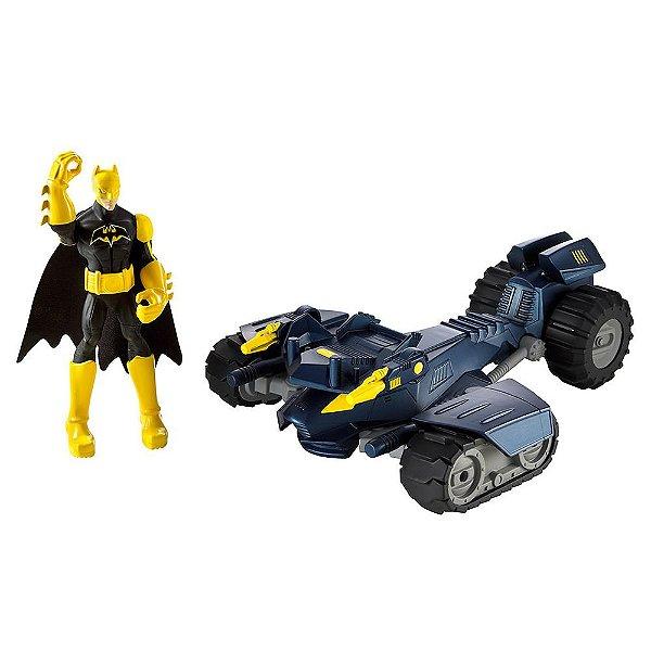 Batman Power Attack - Bat-Tanque de Combate - Mattel