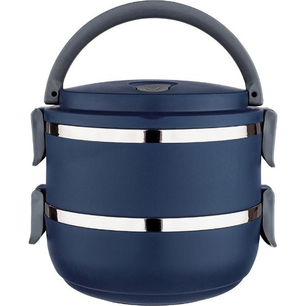 Marmita Lunch Box Azul - Euro Design