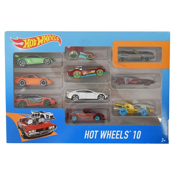 Hot Wheels Pacote 10 Carros - Plymouth - Mattel