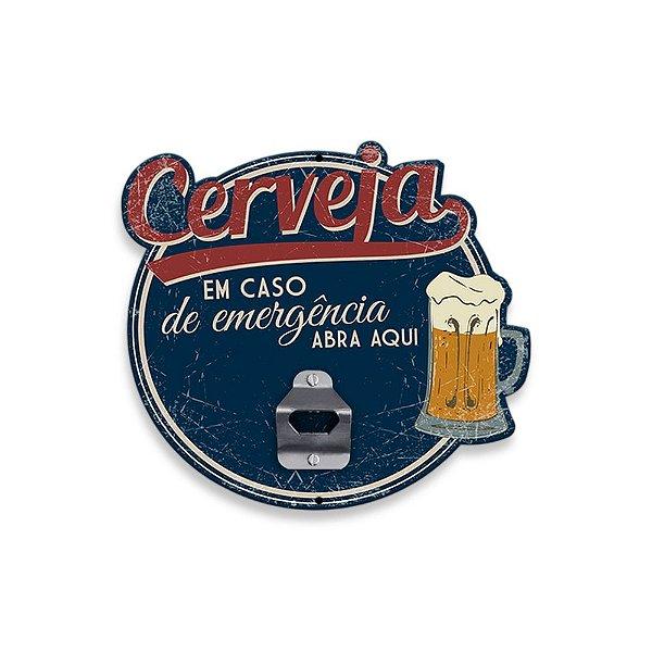 Abridor de Parede para Garrafas - Emergência - Geguton