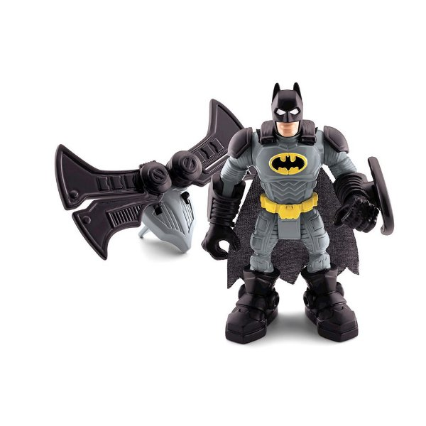 Imaginext - Super Friends - Figuras Básicas - Batman com Bat-asa - Mattel