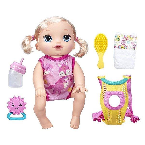 Baby Alive Loira - Hora do Passeio - Hasbro