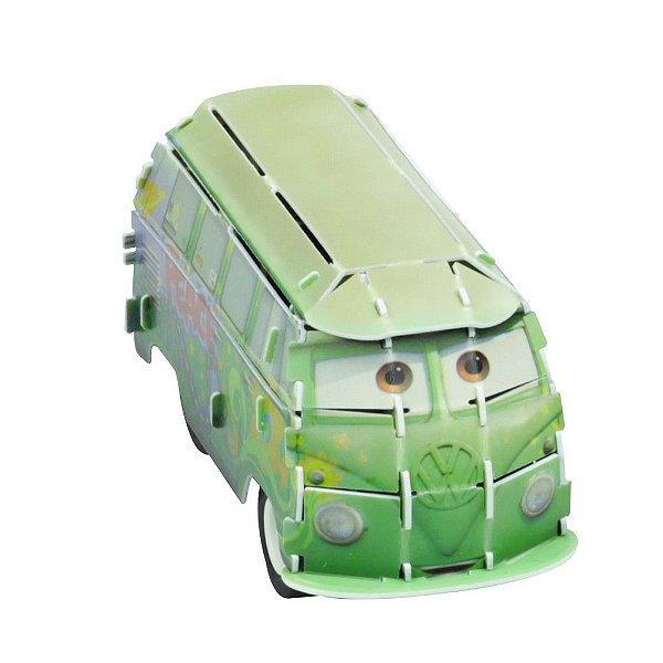 Quebra-Cabeça 3D - Carros - Fillmore - DTC