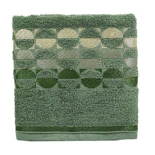 Toalha de Rosto Brisa - Verde Militar - Karsten
