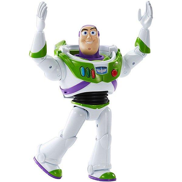 Boneco Buzz Lightyear Que Fala - Toy Story - Mattel