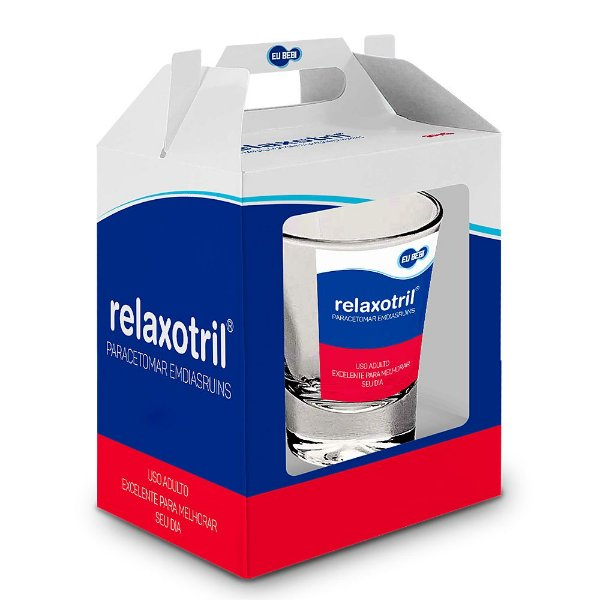 Copo de Dose Remédios - Relaxotril - 50ml - Brasfoot