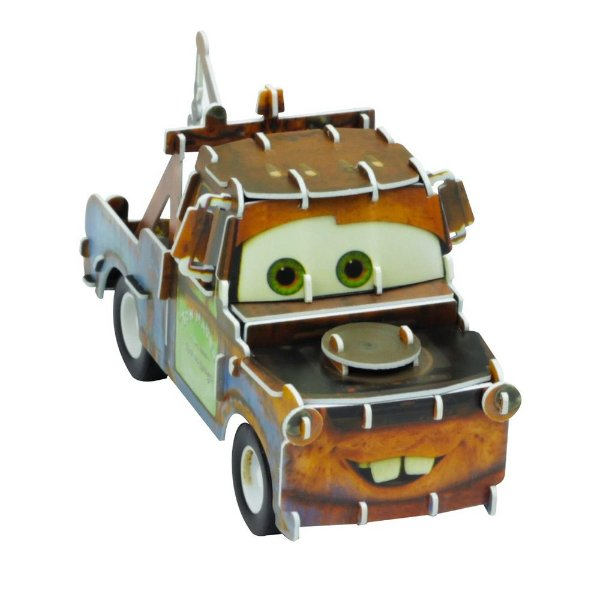 Quebra-Cabeça 3D - Carros - Mate - DTC