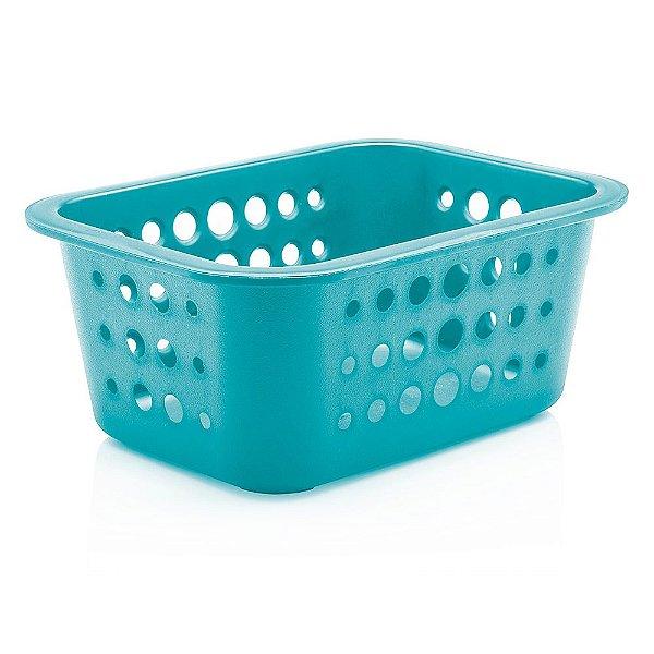 Caixa Organizadora Pequena - Azul Claro - Ou