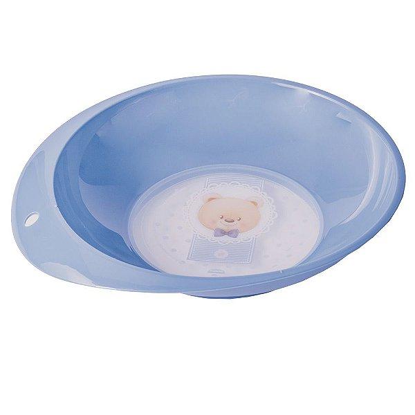 Prato Infantil Ursinho - Azul - Plasútil