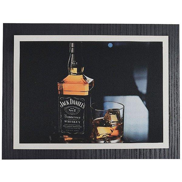Quadro Decorativo Jack Daniel's Whisky - 30 x 23 cm