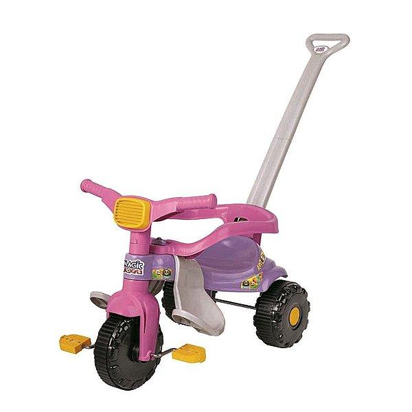 Triciclo Infantil Tico Tico Festa - Rosa e Lilás - Magic Toys