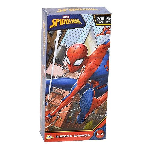 Quebra-cabeça Homem-Aranha – 200 peças - Toyster