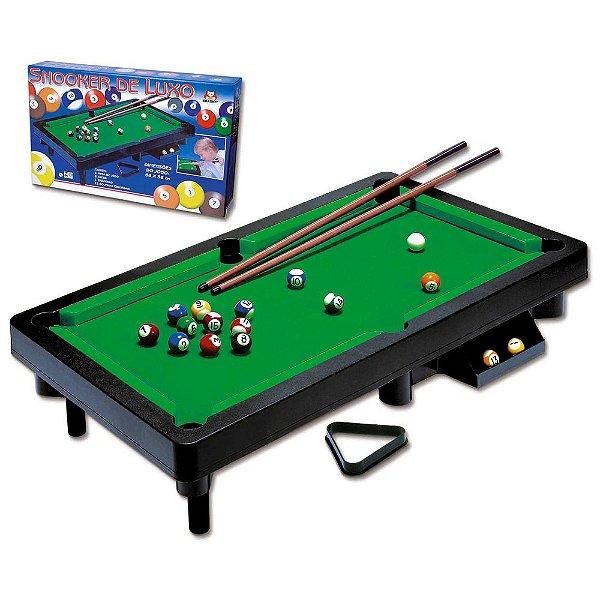 Jogo Snooker Luxo - Braskit