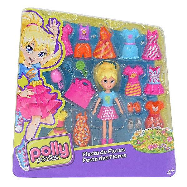 Polly Pocket - Festa das Flores - Mattel