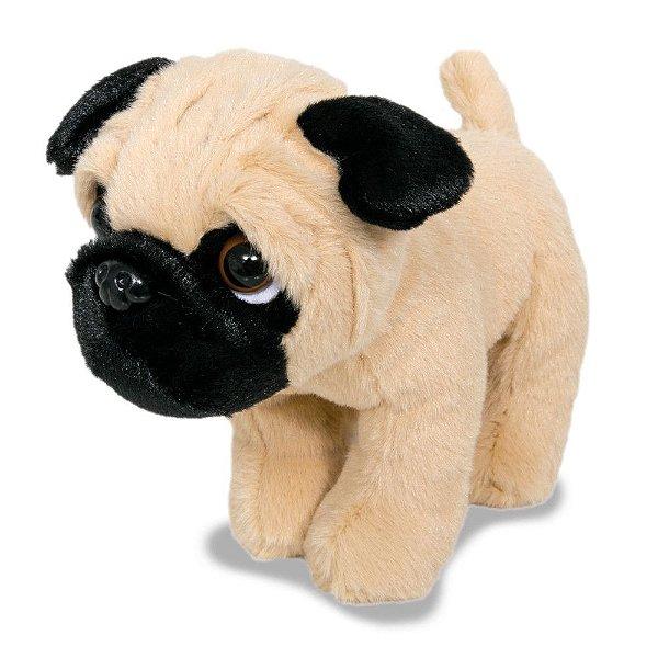 Mini Pug de Pelúcia - Buba