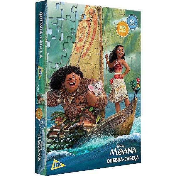 Quebra-Cabeça Moana - 100 peças - Toyster