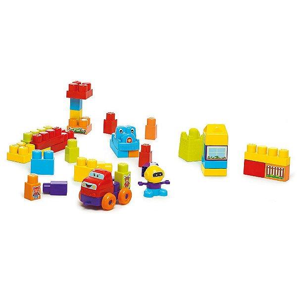 Super Blocks - 39 Peças - Calesita