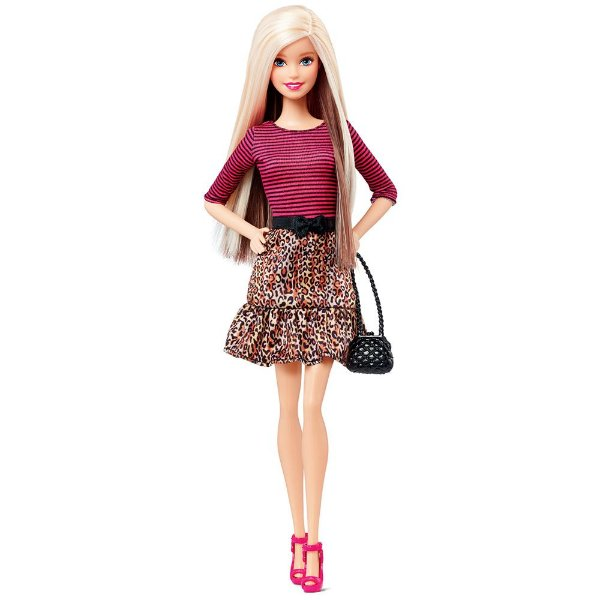 Barbie Fashionistas Balada - Animal Print - Mattel