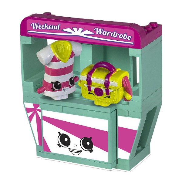 Shopkins Kinstructions Weekend Wardrobe - DTC