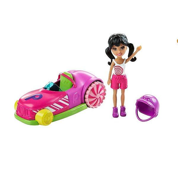 Polly Pocket - Carro Gira-Gira e Crissy - Mattel