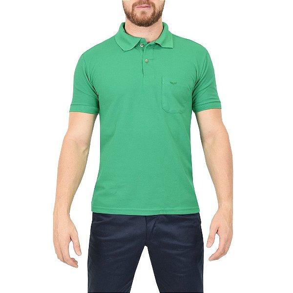 72889d05be Camisa Polo Masculina Verde - Wayna - Casa Joka