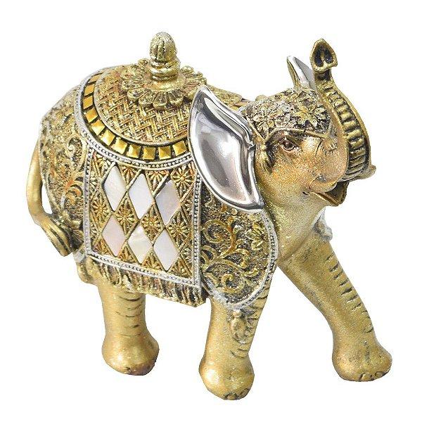 Elefante Indiano Dourado Médio - Mabruk