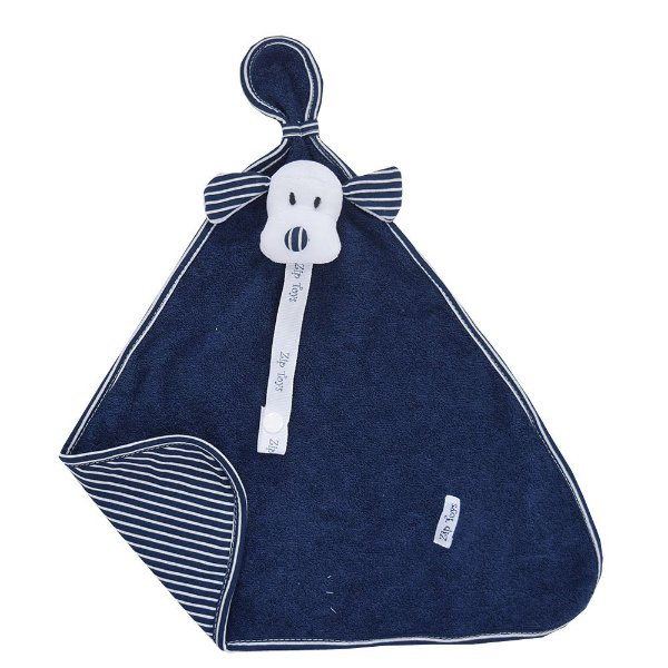 Pano de Boca Atoalhado Cachorrinho Azul - Zip Toys