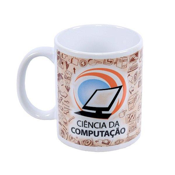 Caneca de Cerâmica Profissões - Ciência da Computação - Vikos