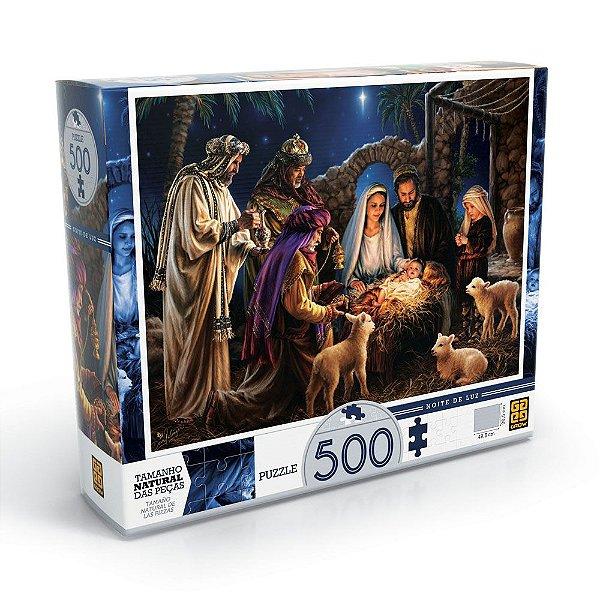 Quebra Cabeça Noite de Luz - 500 peças - Grow